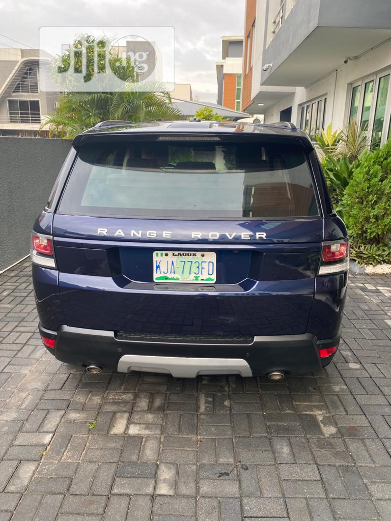 Land Rover Range Rover Sport 2014 HSE 4x4 (3.0L 6cyl 8A) Black   Cars for sale in Ajah, Lagos State, Nigeria