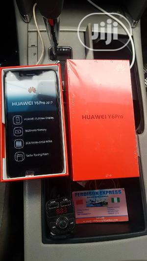 New Huawei Y6 Pro 32 GB Black   Mobile Phones for sale in Lagos State, Ikeja