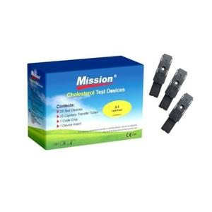 Mission Cholesterol Testing Strip By 5 | Tools & Accessories for sale in Enugu State, Enugu