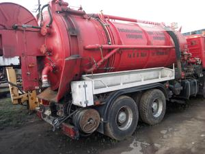 MAN Sewage Mobile Tank 14,500 Litres | Heavy Equipment for sale in Lagos State, Amuwo-Odofin
