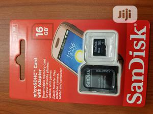 Sandisk 16gb Memory Card | Accessories for Mobile Phones & Tablets for sale in Lagos State, Ikeja