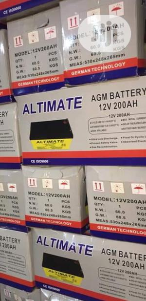 200ah Altimate Deep Cycle Battery   Solar Energy for sale in Lagos State, Ojo