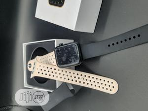 Latest Smartwatch Series 6 With Extra Rubber Strap | Smart Watches & Trackers for sale in Lagos State, Ajah