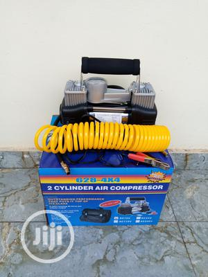 Car Tire Inflator, Double Cylinder Air Compressor Pump | Vehicle Parts & Accessories for sale in Lagos State, Ojo