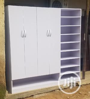 Wardrobe With Side Shelf   Furniture for sale in Abuja (FCT) State, Zuba