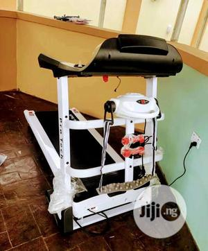 2hp Treadmill With Massager, Mp3, Dumbbell Etc   Sports Equipment for sale in Lagos State, Orile