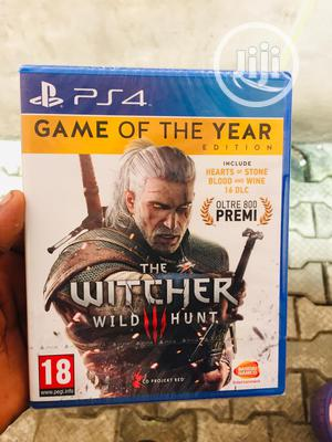 The Witcher Wild Iii Hunt For Ps4 | Video Games for sale in Lagos State, Ikeja