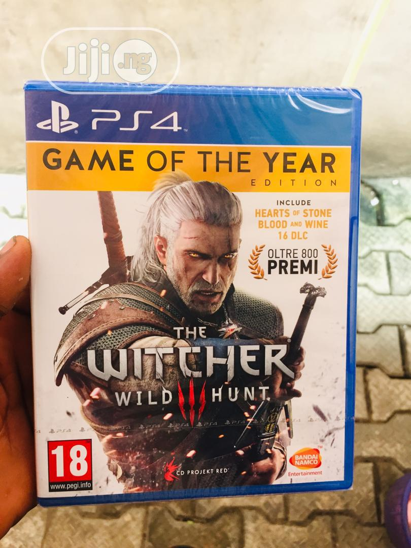 The Witcher Wild Iii Hunt For Ps4
