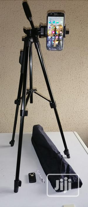 Selfie Tripod Stand With Remote Control   Accessories & Supplies for Electronics for sale in Lagos State, Ikeja