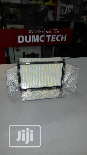 LED Video Light With Battery And Charger   Accessories & Supplies for Electronics for sale in Lagos State, Ikeja
