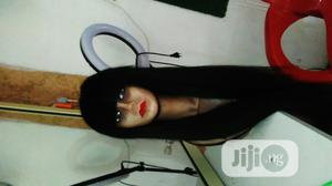 Stright Hair Wig Angle Free And Long Lasting Color 1b   Hair Beauty for sale in Lagos State, Ojo