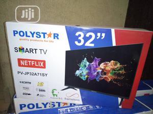 Polystar Smart TV 32 Inch | TV & DVD Equipment for sale in Lagos State, Ojo