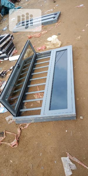 Casement Window With Gray Glass | Windows for sale in Lagos State, Agege