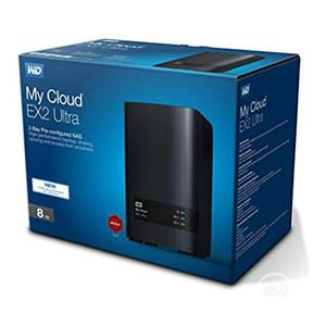 WD 8TB My Cloud EX2 Ultra Network Attached Storage | Computer Hardware for sale in Lagos State, Ikeja