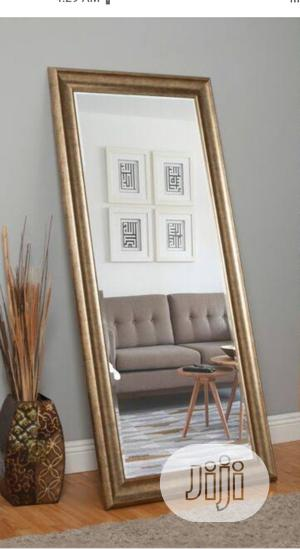 Wall Gold Long Mirror | Home Accessories for sale in Lagos State, Surulere