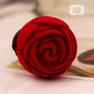 Red Rose Ring Case | Wedding Wear & Accessories for sale in Rivers State, Port-Harcourt