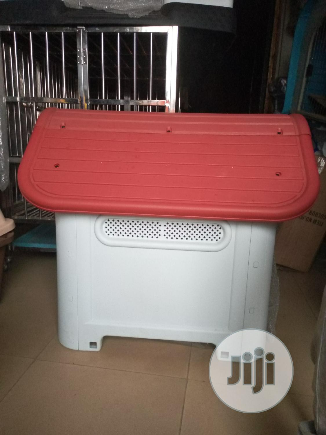 Plastic Dog House | Pet's Accessories for sale in Alimosho, Lagos State, Nigeria