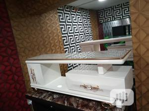 TV Stand With Top Glass Size 1.2m | Furniture for sale in Lagos State, Lagos Island (Eko)