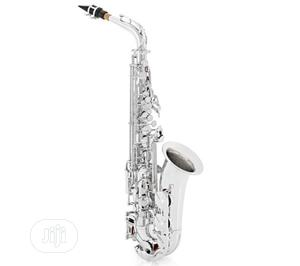 Yamaha Alto Professional Saxophone Silver   Musical Instruments & Gear for sale in Lagos State, Ikeja