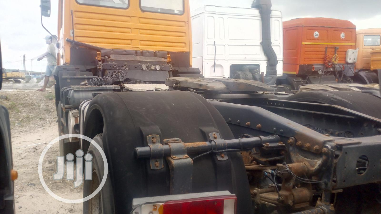 Man Diesel With Auxiliary Tokunbo