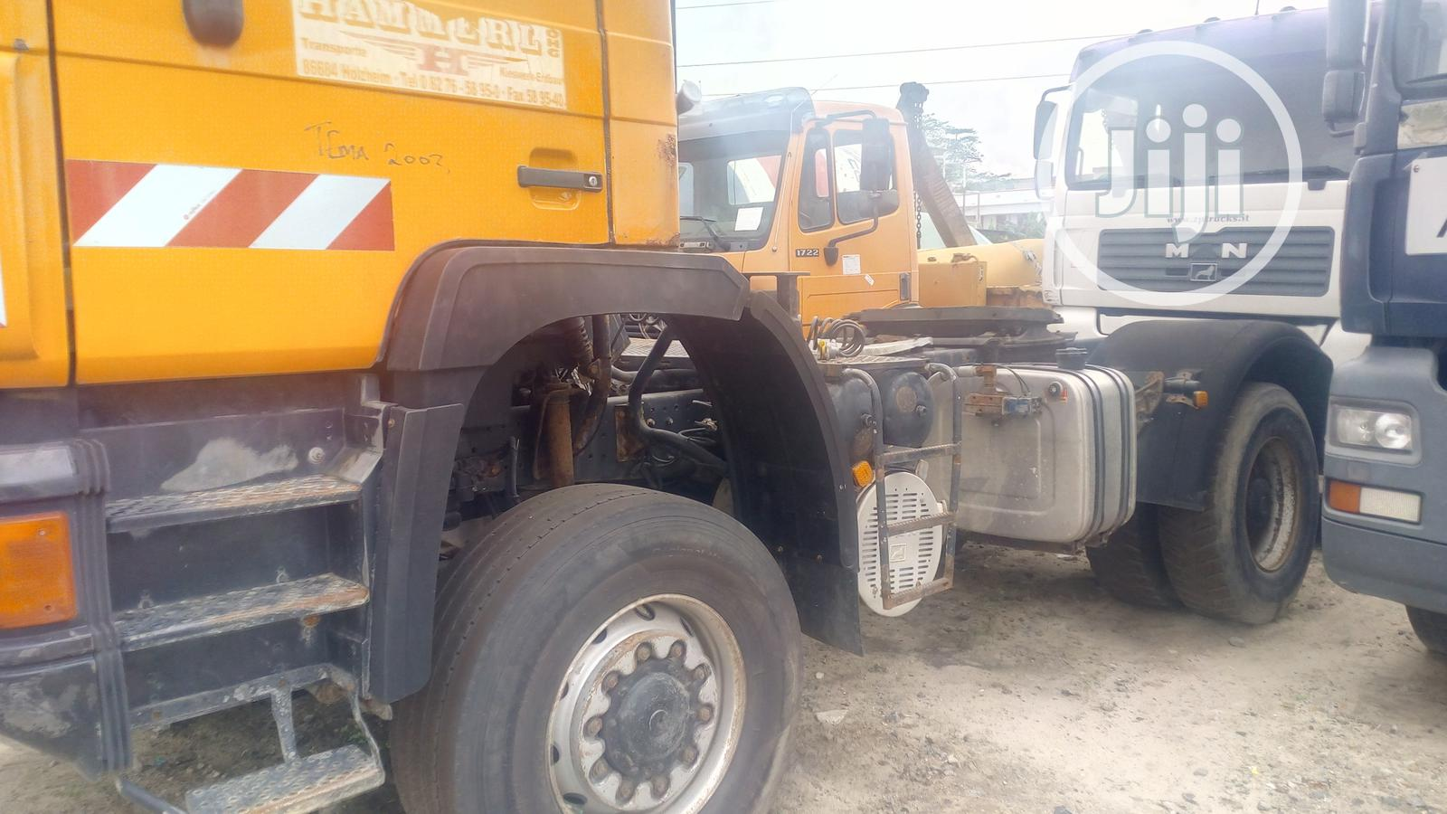 Man Diesel With Auxiliary Tokunbo   Trucks & Trailers for sale in Amuwo-Odofin, Lagos State, Nigeria