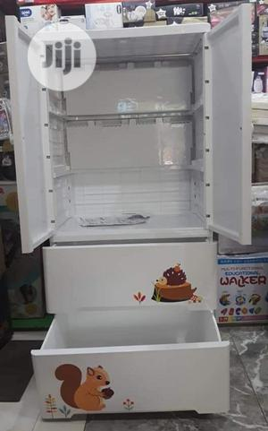 Plastic Baby Cabinet Walldrope Hanger And 2 Drawer Section   Children's Furniture for sale in Lagos State, Ajah