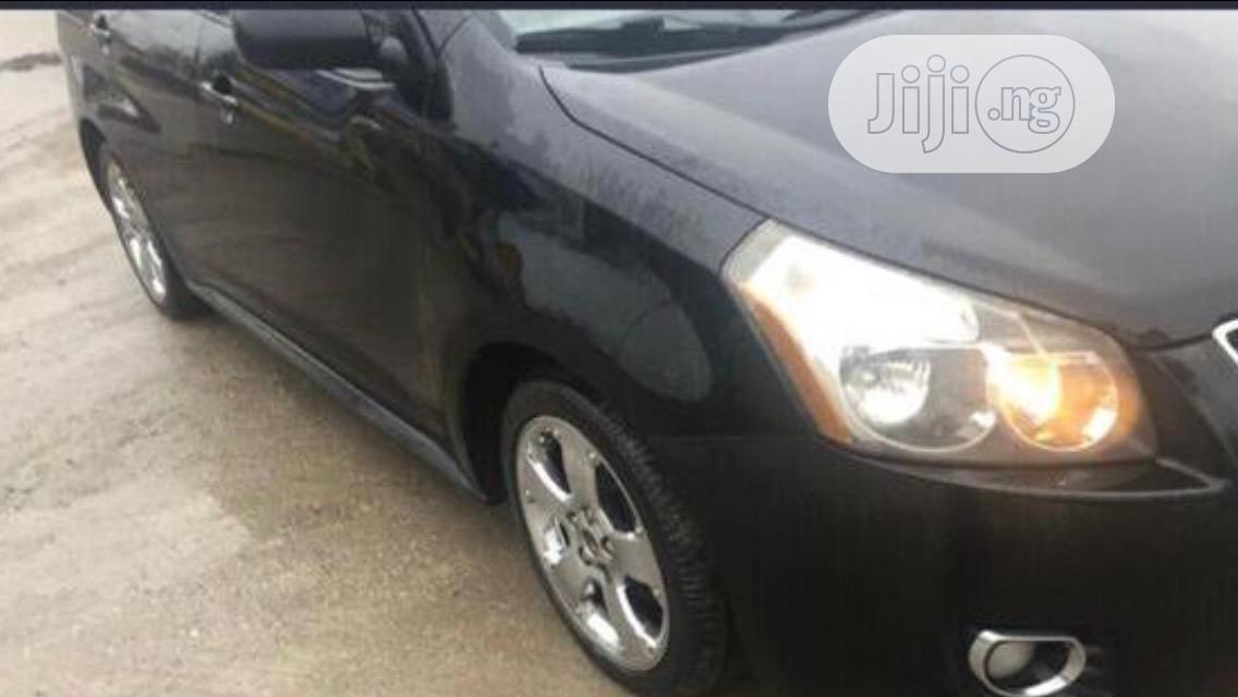 Pontiac Vibe 2009 1.8L Black | Cars for sale in Amuwo-Odofin, Lagos State, Nigeria