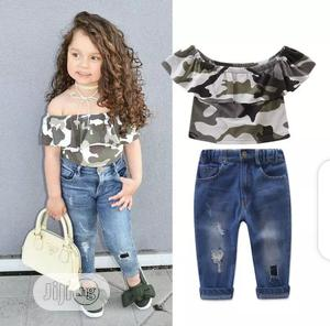 Beatiful Top and Jean Set | Children's Clothing for sale in Lagos State, Surulere
