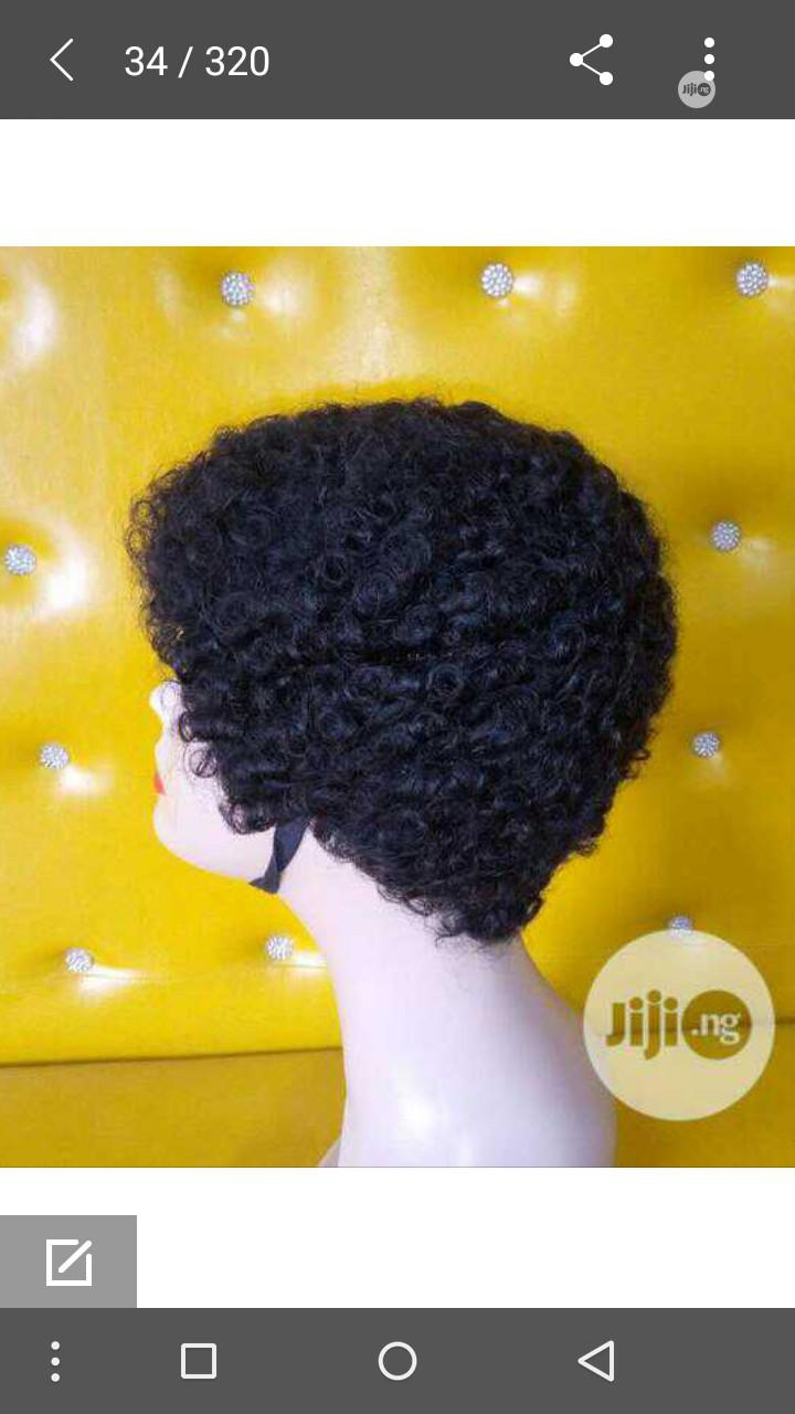 Archive: Short Curl Wig