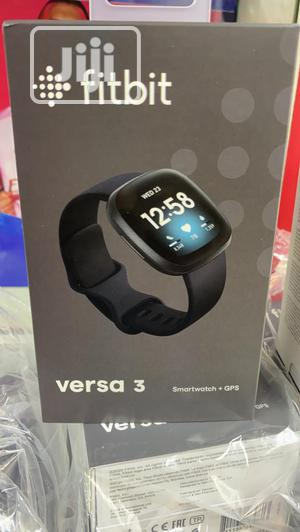 Fitbit Versa 3   Smart Watches & Trackers for sale in Lagos State, Lekki