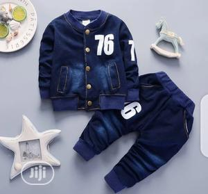Boys 2pcs Jean Set   Children's Clothing for sale in Lagos State, Surulere