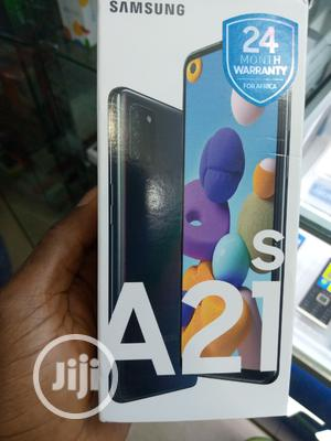 New Samsung Galaxy A21s 64 GB Black   Mobile Phones for sale in Lagos State, Ikeja