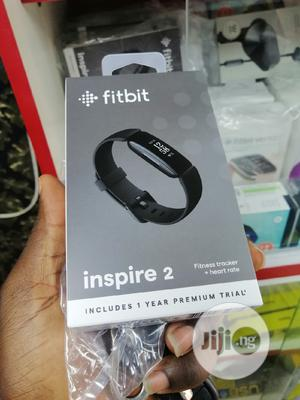 Fitness Tracker + Heart Rate Fitbit Inspire 2   Smart Watches & Trackers for sale in Lagos State, Ikeja