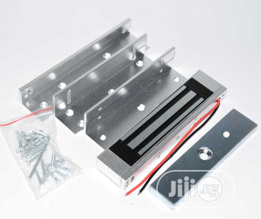 180KG Electric Magnetic Lock + Brackets For Access Control   Doors for sale in Ikeja, Lagos State, Nigeria