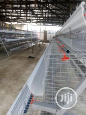 Newly Fabricated Galvanized Battery Cage | Farm Machinery & Equipment for sale in Abia State, Umuahia