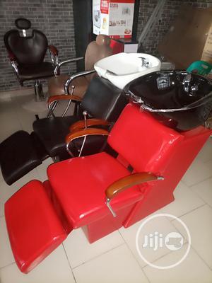 Executive Salon Chairs With Washing Bazin | Salon Equipment for sale in Lagos State, Lagos Island (Eko)