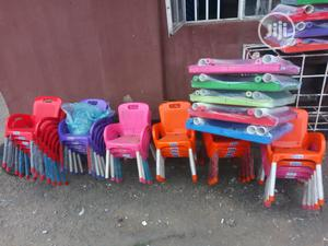 Chidren Plastic Table And Chair   Children's Furniture for sale in Lagos State, Isolo