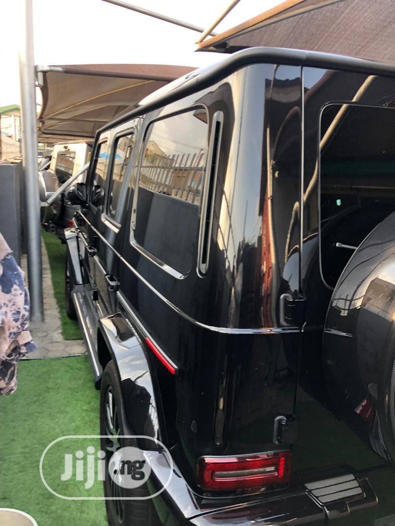 Archive: New Mercedes-Benz G-Class 2019 Base G 550 AWD Black