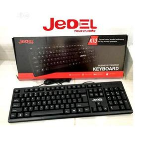 Jedel K13 Wired Business Standard Keyboard   Computer Accessories  for sale in Lagos State, Yaba