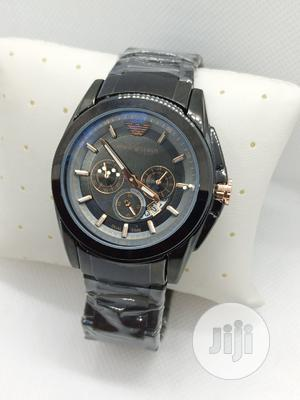 Emporio Amani Black | Watches for sale in Oyo State, Ibadan