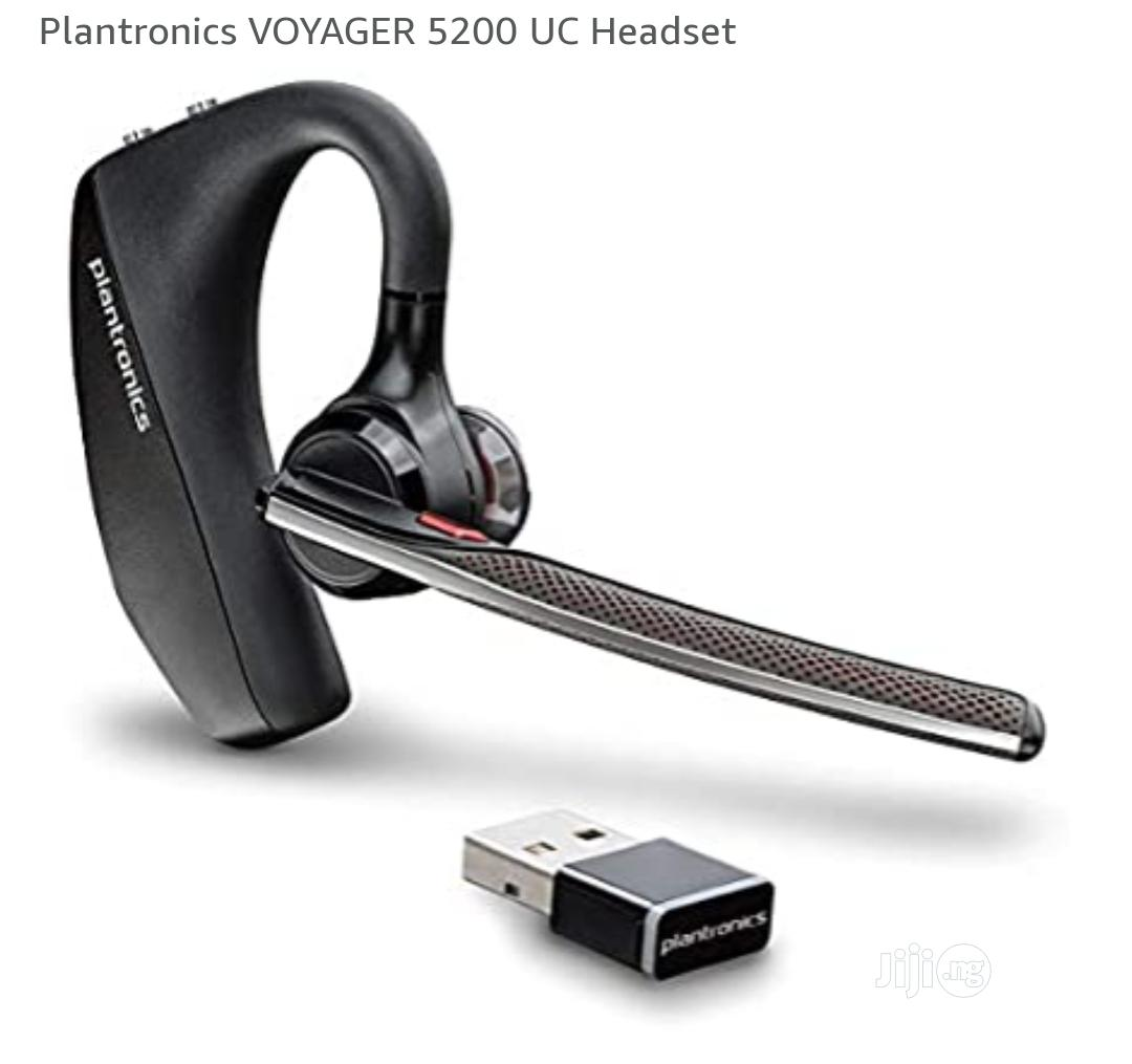 Plantronics VOYAGER 5200 UC Headset | Accessories for Mobile Phones & Tablets for sale in Ikeja, Lagos State, Nigeria