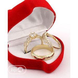 Italian Gold Wedding Ring Set | Wedding Wear & Accessories for sale in Lagos State, Apapa