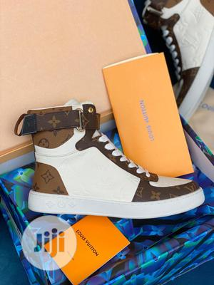 High Quality Louis Vuitton Hightop Ladies Sneakers | Shoes for sale in Lagos State, Magodo