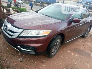 Honda Accord CrossTour 2013 EX-L w/Navigation AWD Brown | Cars for sale in Lagos State, Ikeja