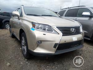 Lexus RX 2015 350 FWD Gold | Cars for sale in Lagos State, Apapa