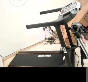 2hp Treadmill With Massager, MP3, Dumbell   Sports Equipment for sale in Kano State, Kano Municipal