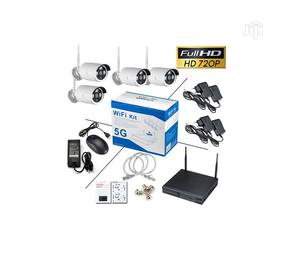 Wireless Recorder With 4 Cameras - NVR Wifi Kit - 5G   Security & Surveillance for sale in Lagos State, Ikeja