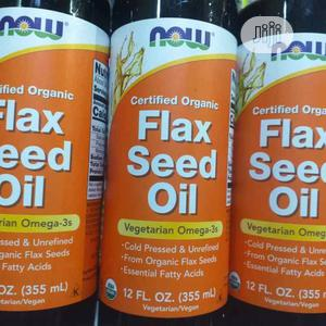 Flax Seed Oil Liquid, Organic   Vitamins & Supplements for sale in Lagos State, Amuwo-Odofin