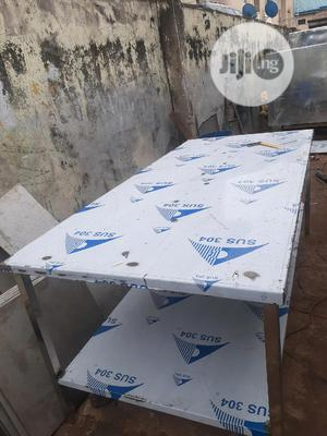304 Grade Stainless Steel Table 4ft X 8ft | Store Equipment for sale in Lagos State, Ikeja