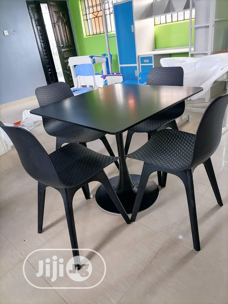 Archive: Super Quality Set of Restaurant/Dinning Table With 4 Chairs
